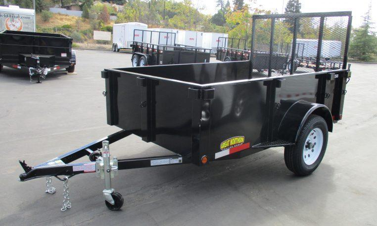 2018 Great Northern 6 x 10  Landscape Utility Trailer