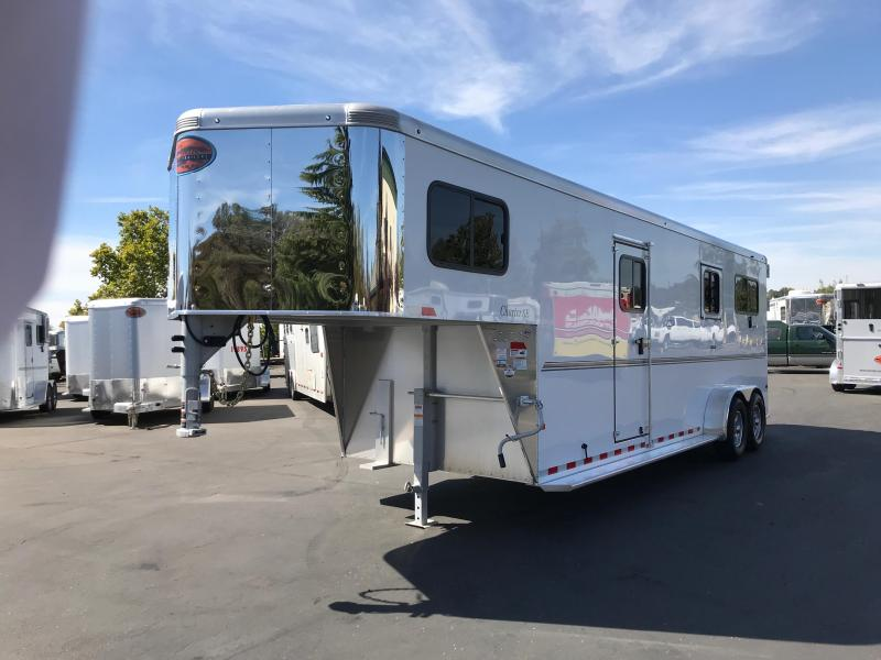 2019 Sundowner Trailers Charter TRSE 2 Plus 1 GN 2H Horse Trailer
