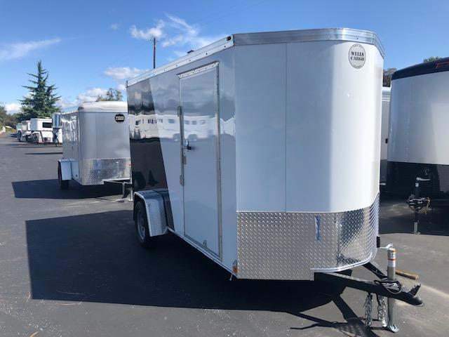 2020 Wells Cargo 6 X 12 Road Force V Nose Enclosed Cargo Trailer