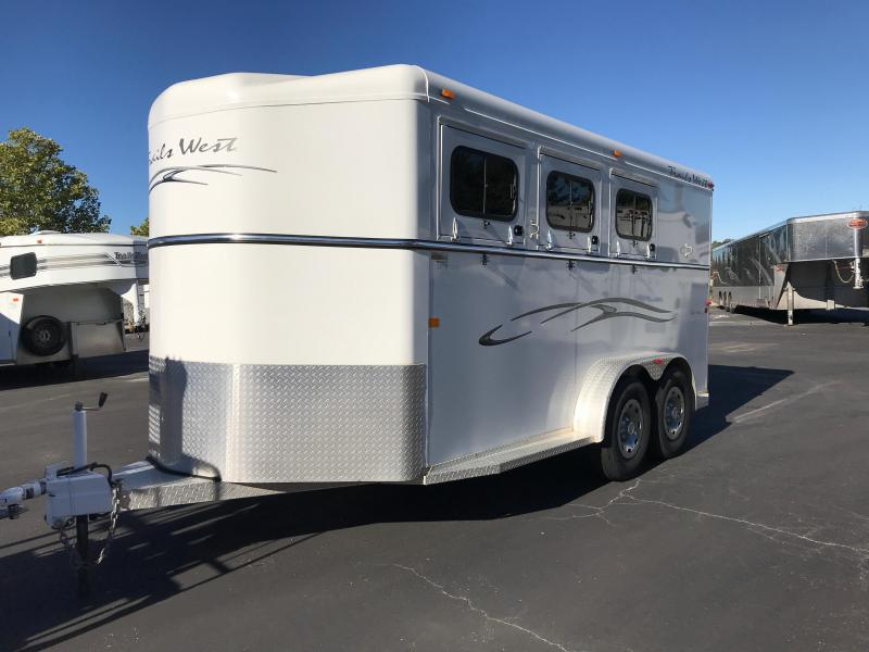 2006 Trails West Sierra II 3 Horse Trailer