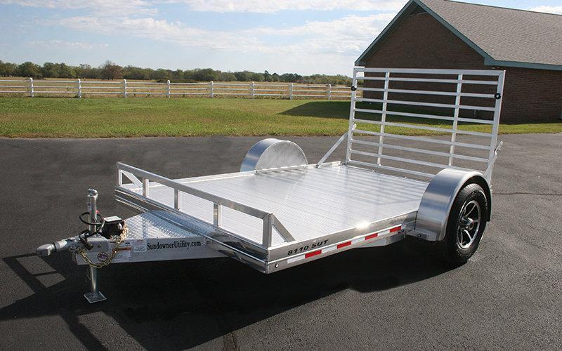 "2017 Sundowner 6'9"" X 10 Utility Trailer"