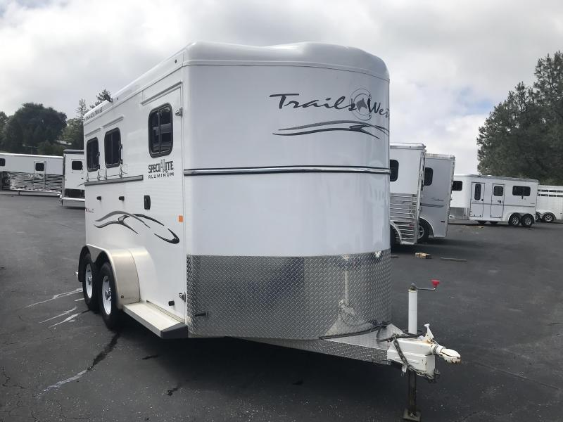 2016 Trails West Manufacturing Classic 2H BP Horse Trailer