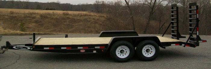 Quality 82 x 18 12K Equipment Trailer