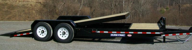 Sure-Trac 22FT Partial Tilt-14K Equipment Trailer