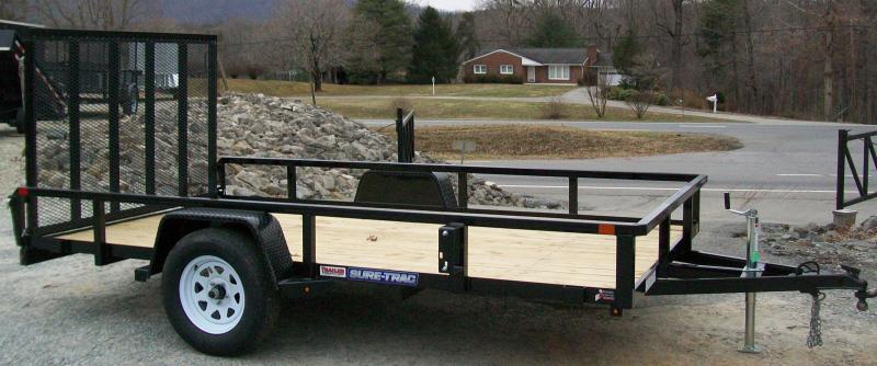 Sure-Trac 6 x 10 Tube Top Utility Trailer