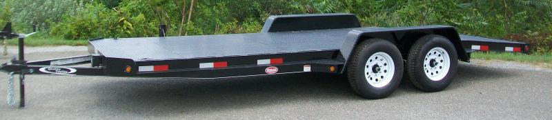 Quality -Std. 83 x 19 Car Trailer