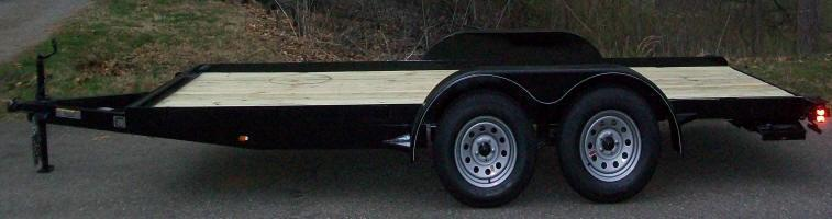 Better Built 83 x 16 7K Car/Equipment Trailer