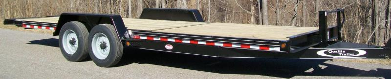 Quality 82 x 22 17K Partial Tilt Equipment Trailer