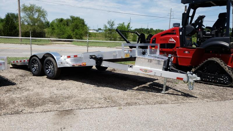 2019 H and H Trailer H220MXA-100 Manual Speedloader