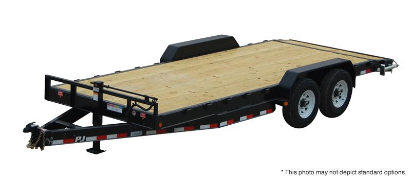 "2019 PJ Trailers 32' x 8"" Channel Equipment Trailer"