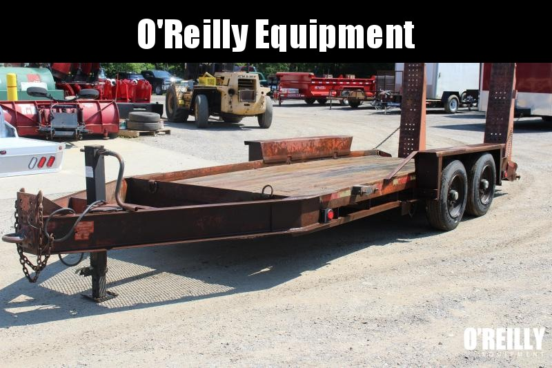 1998 Belshe T-16 Equipment Trailer USED