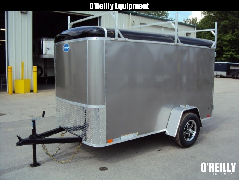 2018 United Trailers 5 x 10 Enclosed Cargo Trailer