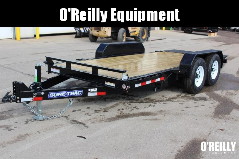 2019 Sure-Trac 7 x 16 Equipment Trailer