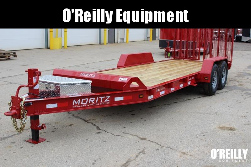 2018 Moritz International 7 x 20 Equipment Trailer