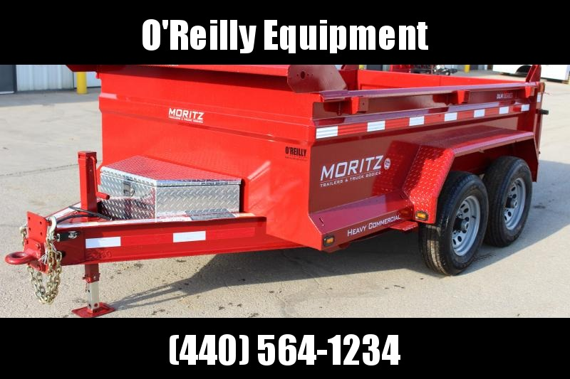 "2019 Moritz International 6'10""x10 HD Dump Trailer"
