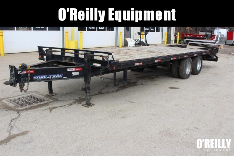 2018 Sure-Trac 8.5 x 205' Flatbed Trailer Used
