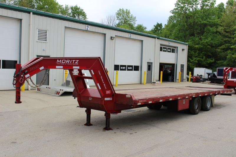 2016 Moritz International FGSH-10+20 Flatbed Trailer Used