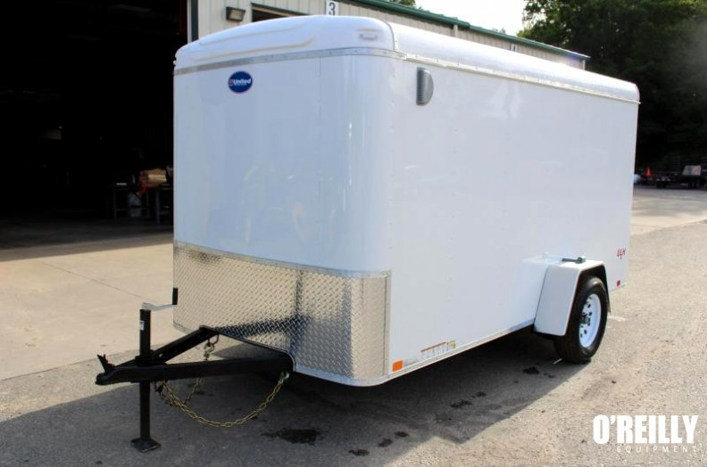 2017 United Trailers ULH 6x12 Enclosed Cargo Trailer