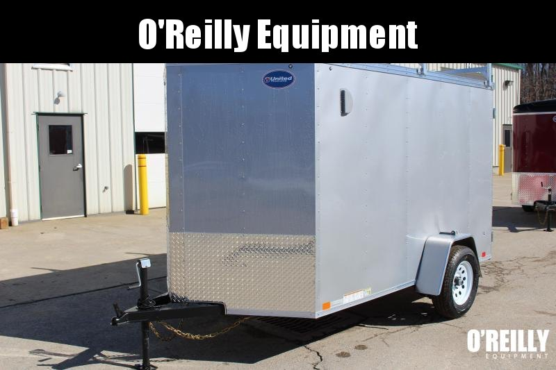 2018 United Trailers XLV 6 x 10 Enclosed Cargo Trailer