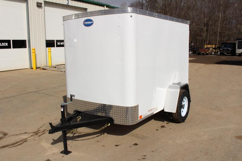 2019 United Trailers XLE-58SA30-S Enclosed Cargo Trailer