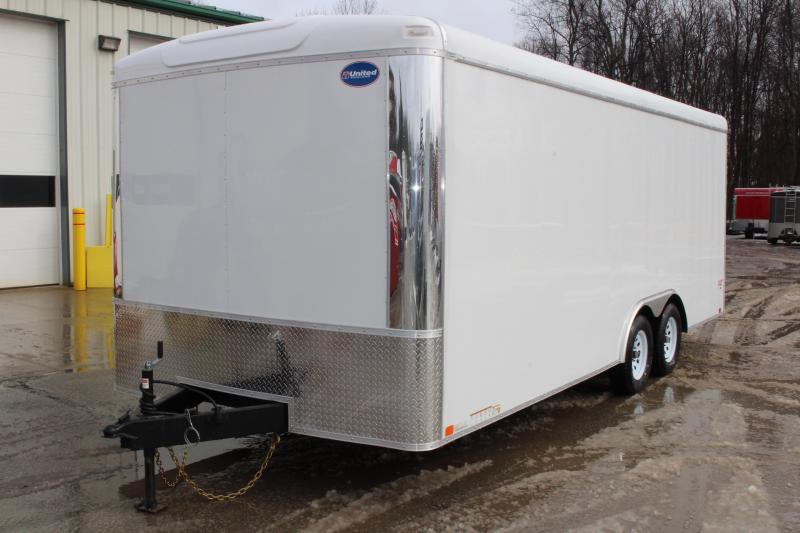 2019 United Trailers ULT 8.5X20 Enclosed Cargo Trailer