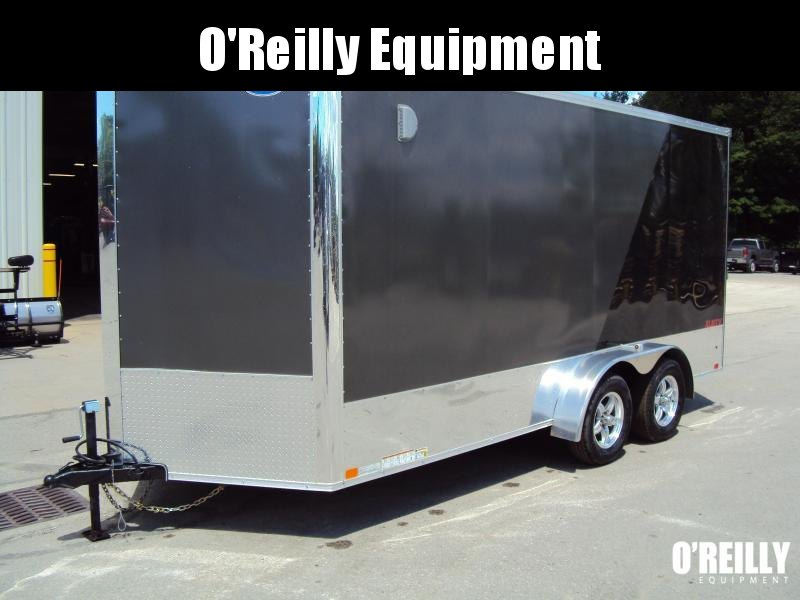 2018 United Trailers XLMTV 7x16 Motorcycle Trailer