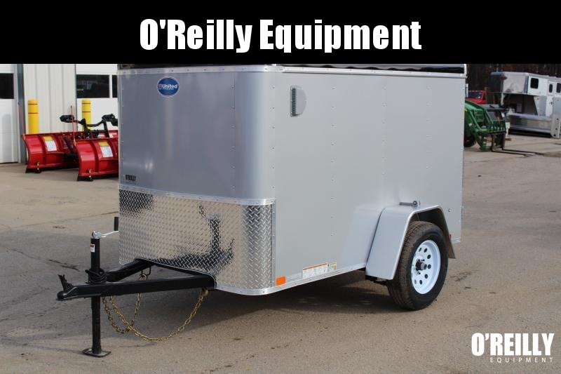 2019 United Trailers ULH 5 x 8 Enclosed Cargo Trailer