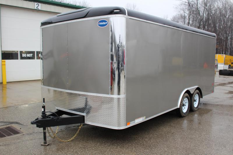 2019 United Trailers ULT 8.5X18 Enclosed Cargo Trailer