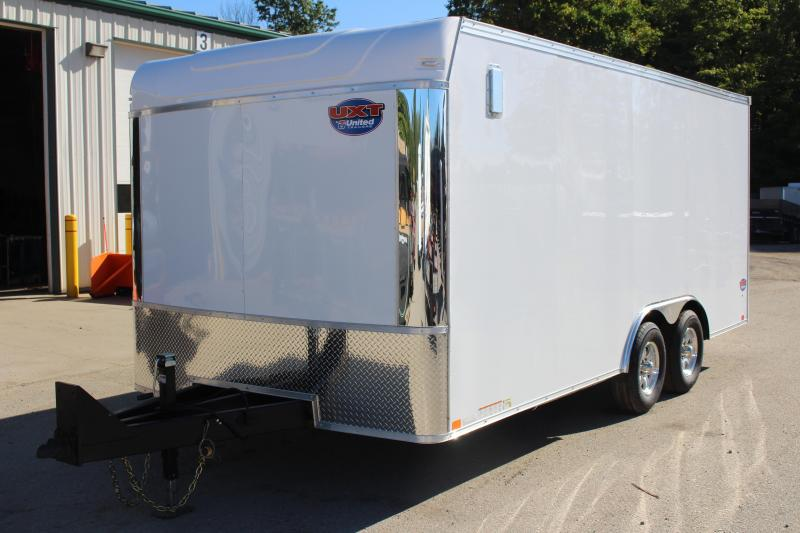 2020 United Trailers UXT 8.5x18 Enclosed Trailer