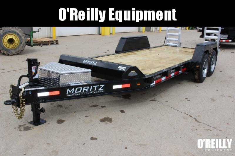 2018 Moritz International 7 x 18 Equipment Trailer
