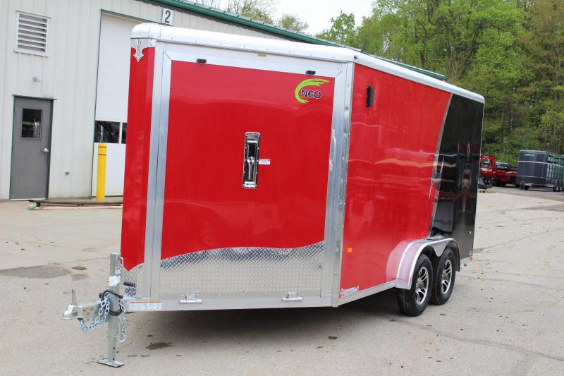 2019 NEO Trailers NAS 7.5 X 18 Enclosed Cargo Trailer