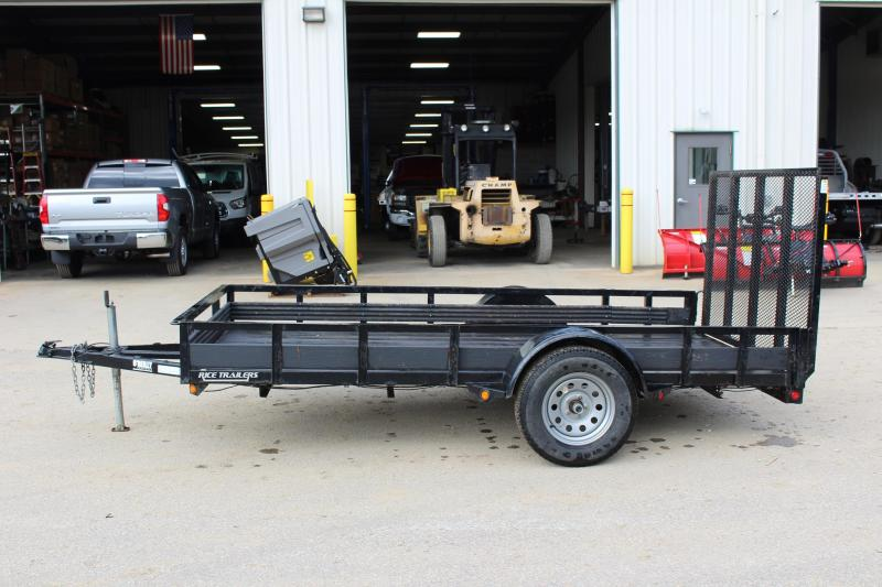 2013 Rice 6 x 12 Used Utility Trailer