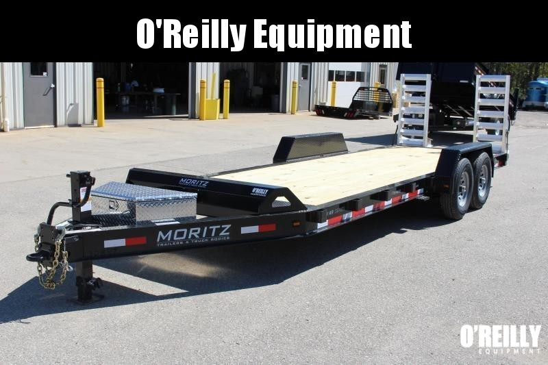 2018 Moritz International 7 x 22 Equipment Trailer