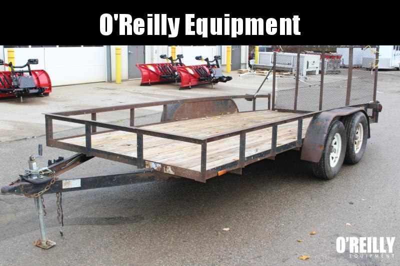 2010 American Manufacturing Operations (AMO) UT162 Utility Trailer USED