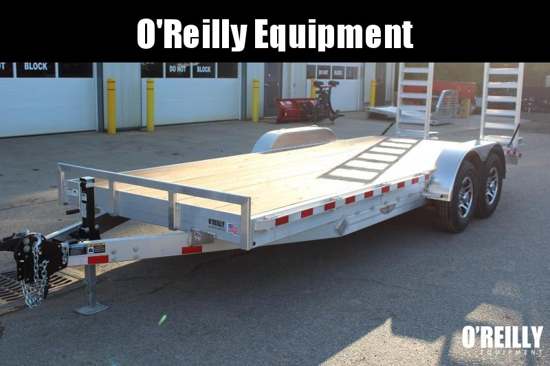 2018 H and H Trailer 7' x 18' Equipment Trailer