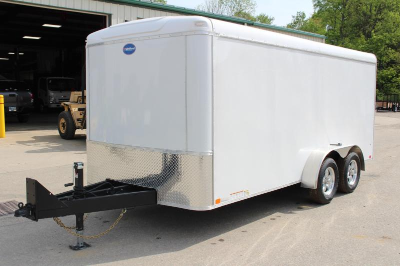 2018 United Trailers 7 x 16 Enclosed Cargo Trailer