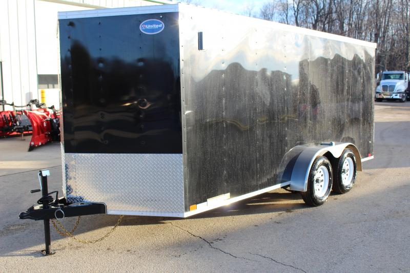 2019 United Trailers XLV 7 x 16 Enclosed Cargo Trailer