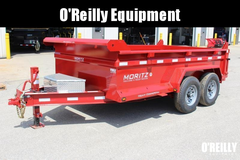 "2019 Moritz International 6'10""x12 HD Dump Trailer"