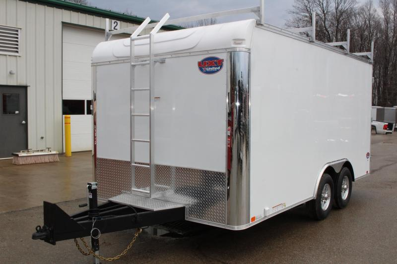 2018 United Trailers UXT 8.5x16 TOOL CRIB Enclosed Cargo Trailer