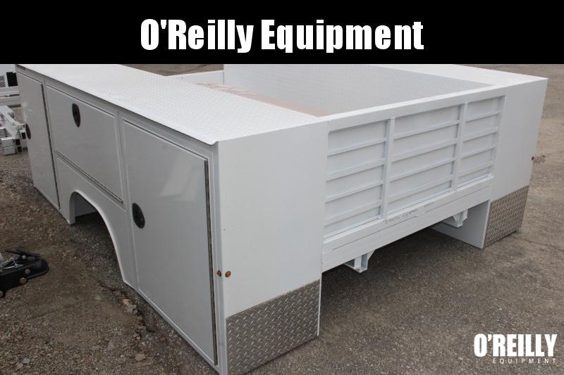 2019 Aluminum Dura Mag Truck Bodies SB-S-60D-STD-DRW Truck Bed