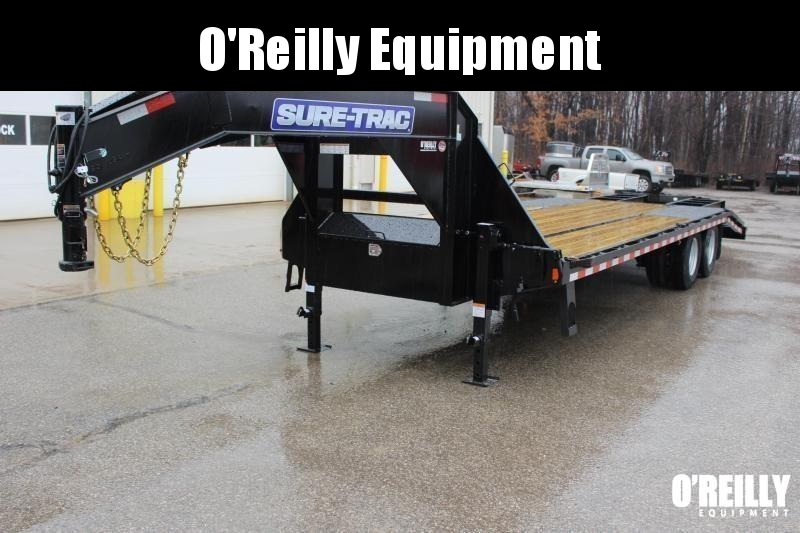 2019 Sure-Trac 8.5 x 25' Flatbed Trailer