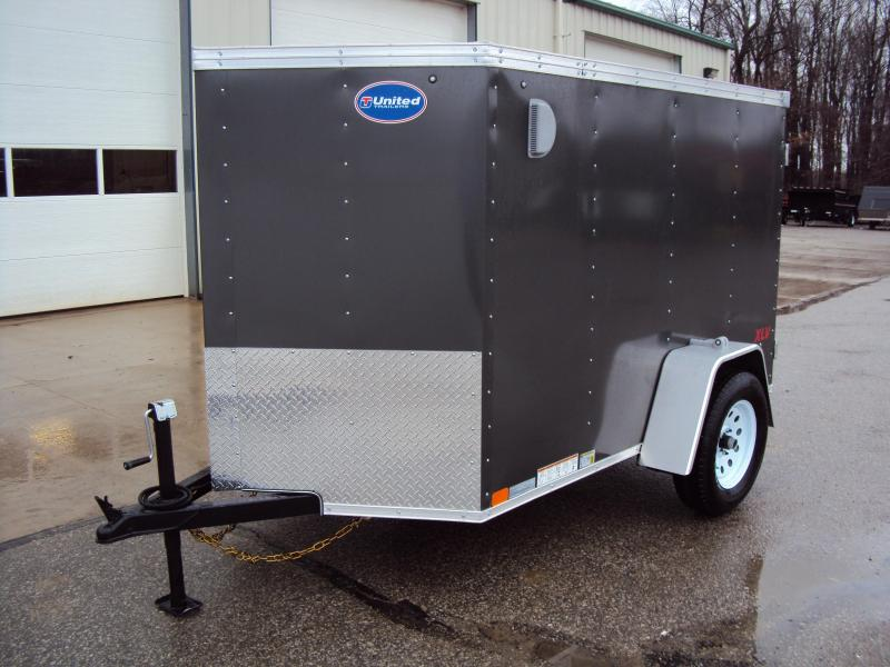 2020 United Trailers XLV 5 x 8 Enclosed Cargo Trailer