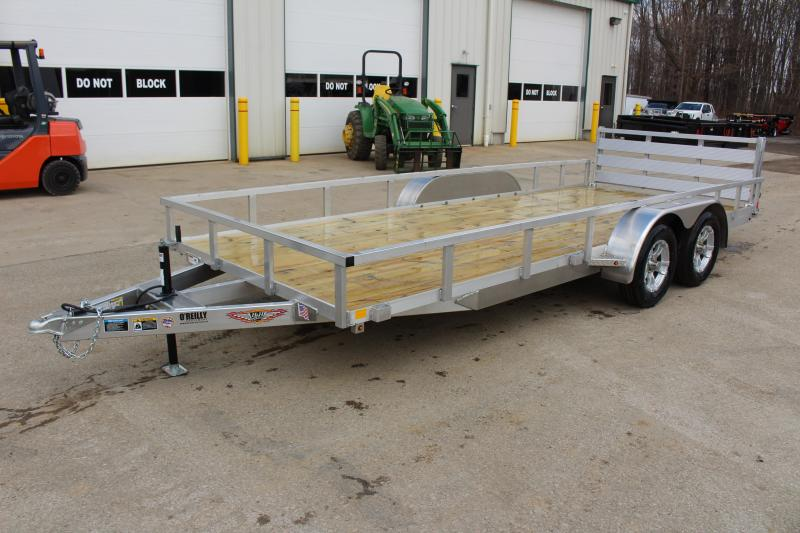 2020 H and H Trailer 6.8 x 18' Utility Trailer