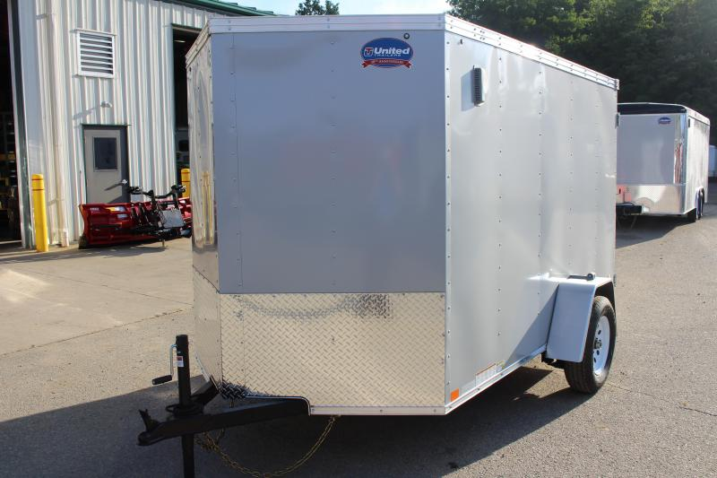 2019 United Trailers XLV 6 x 10 Enclosed Cargo Trailer