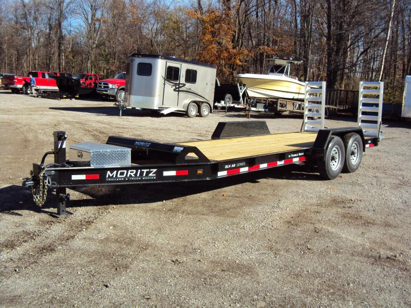 2019 Moritz International 7 x18 Equipment Trailer