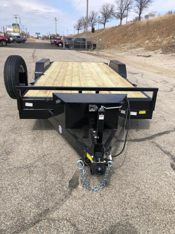 "2020 Quality Steel 83"" x 20' Tilt Trailer $6030"