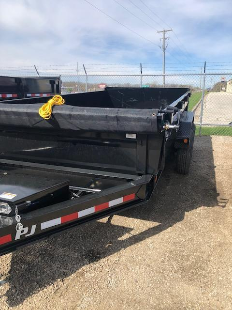 "2020 PJ DL 83"" X 14' 14K GVWR Dump Trailer On Sale $7995"