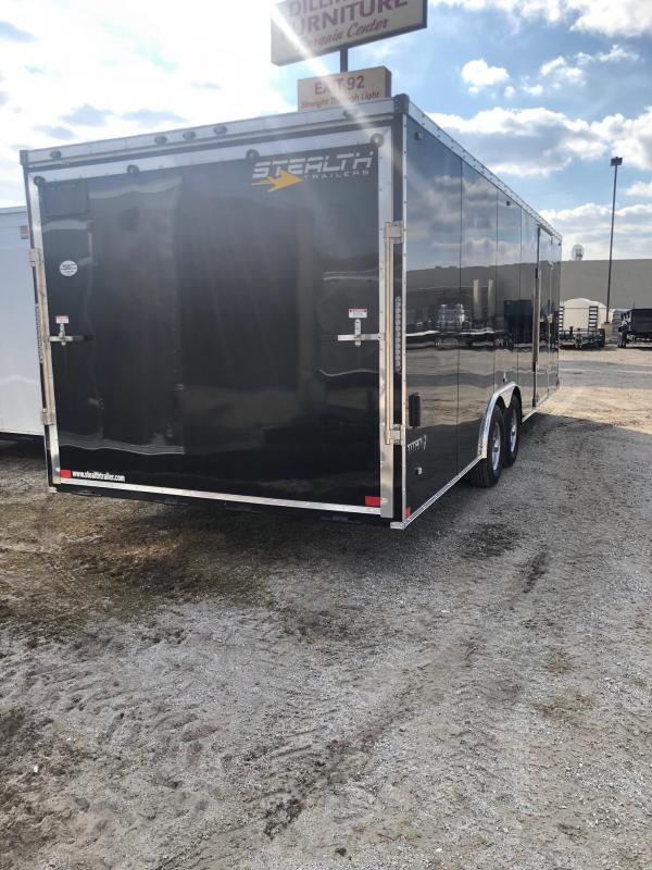 2020 Stealth Titan 8.5X24 10K GVWR Car / Racing Trailer