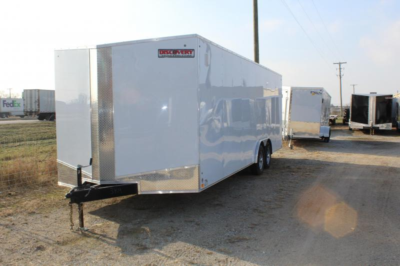 2019 Discovery Challenger ET 8.5X24 7K GVWR Enclosed Car Trailer