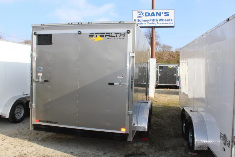 2019 Stealth Mustang 7X14 7K GVWR Enclosed Cargo Trailer